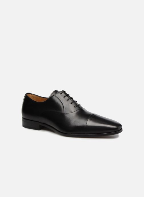 Lace-up shoes Marvin&Co Luxe Pastagna - Cousu Blake Black detailed view/ Pair view