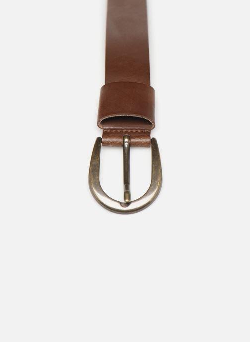 Skärp Esprit Denim Belt Brun bild av skorna på