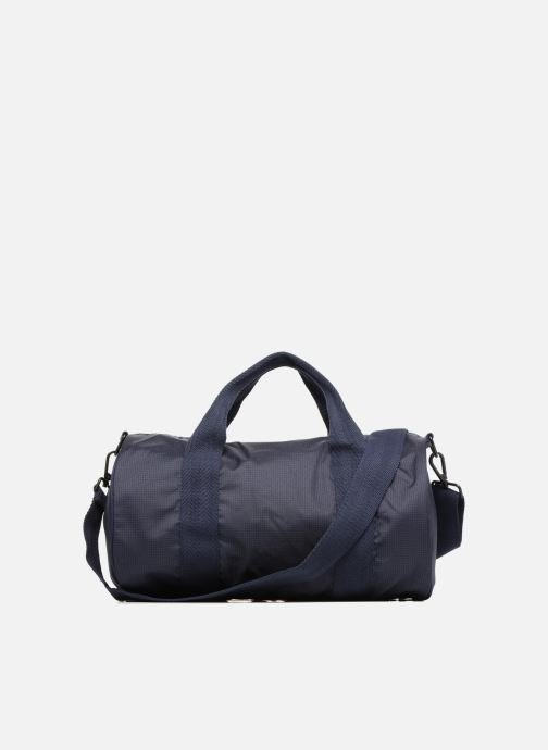 Sacs de sport Fred Perry Checked Twill Barrel bag Bleu vue face