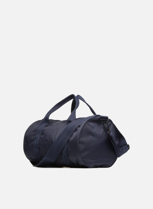 Sacs de sport Fred Perry Checked Twill Barrel bag Bleu vue droite
