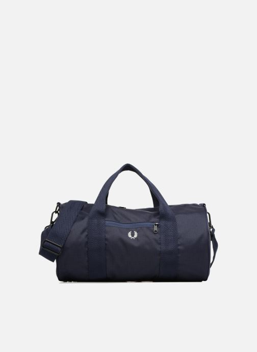 Sacs de sport Fred Perry Checked Twill Barrel bag Bleu vue détail/paire