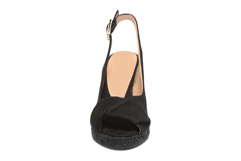 Espadrilles Castaner Brianda H8 Noir vue portées chaussures