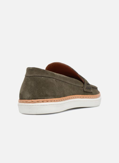 Mocassins Mr SARENZA Townstreet Vert vue face
