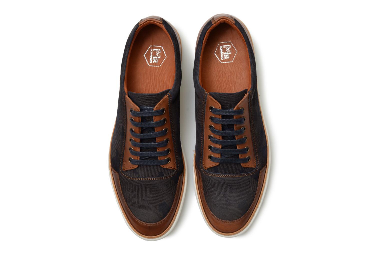 Baskets Mr SARENZA Tommy Bleu vue portées chaussures
