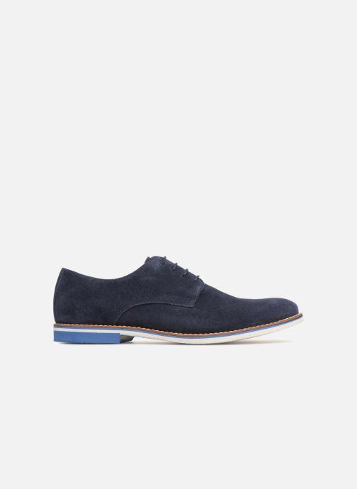 Chaussures à lacets Mr SARENZA Tallow Bleu vue détail/paire