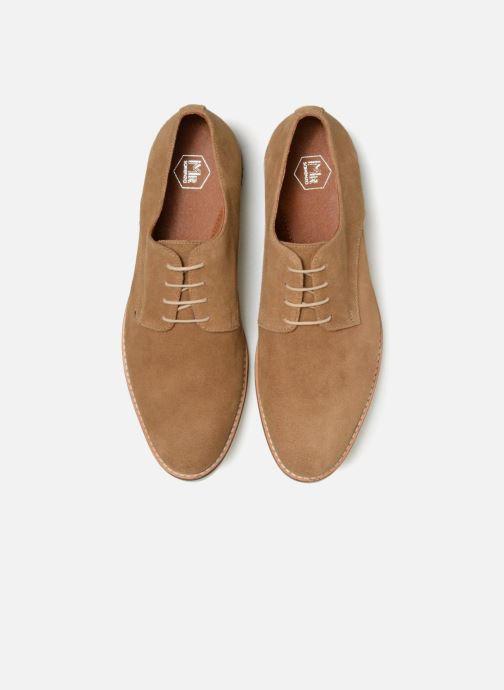 Zapatos con cordones Mr SARENZA Tallow Beige vista del modelo