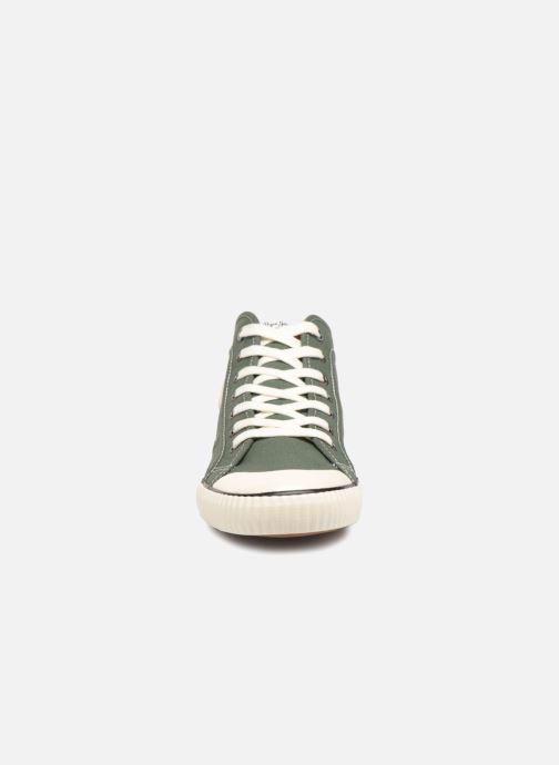 Baskets Pepe jeans Industry 1973 Vert vue portées chaussures
