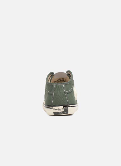 Baskets Pepe jeans Industry 1973 Vert vue droite