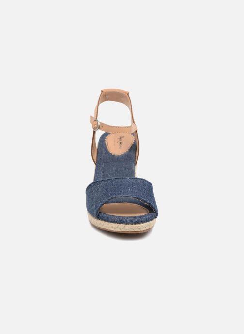 Espadrilles Pepe jeans Shark Denim Bleu vue portées chaussures