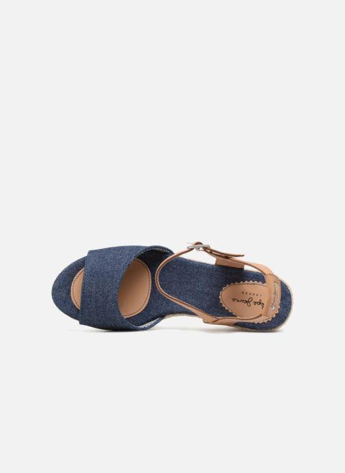 Espadrilles Pepe jeans Shark Denim Bleu vue gauche
