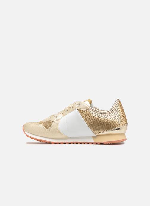 Sneakers Pepe jeans Verona W Sequins Oro e bronzo immagine frontale