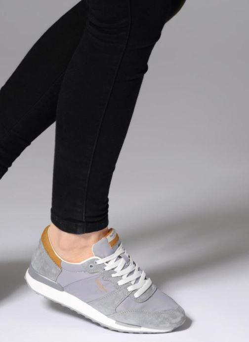 Trainers Pepe jeans Bimba Basic Grey view from underneath / model view