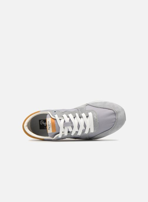 Trainers Pepe jeans Bimba Basic Grey view from the left