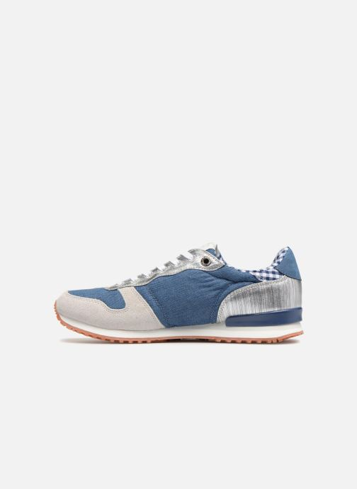 Sneakers Pepe jeans Gable Sue Azzurro immagine frontale