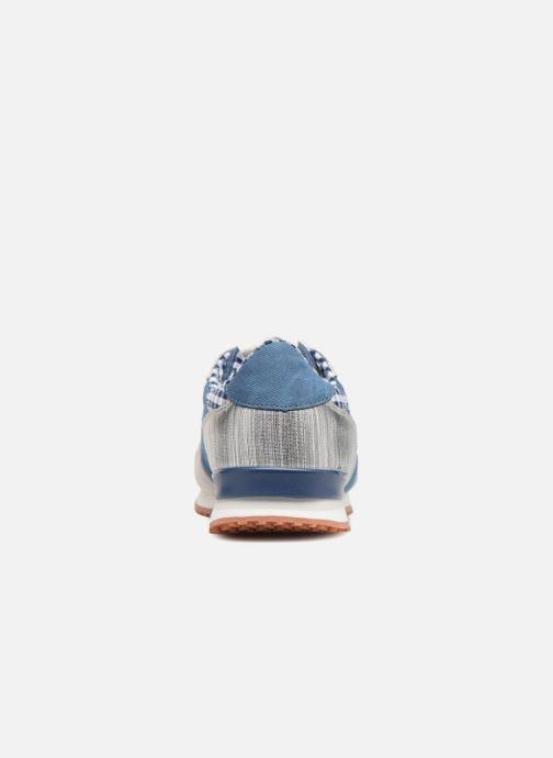 Baskets Pepe jeans Gable Sue Bleu vue droite