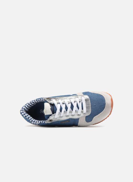Sneakers Pepe jeans Gable Sue Azzurro immagine sinistra