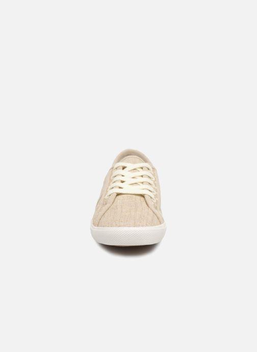Baskets Pepe jeans Aberlady Sand Beige vue portées chaussures