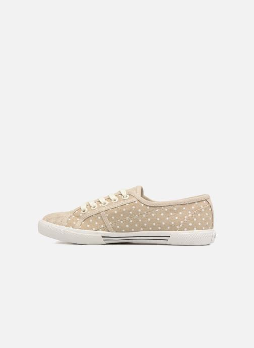 Sneakers Pepe jeans Aberlady Sand Beige immagine frontale