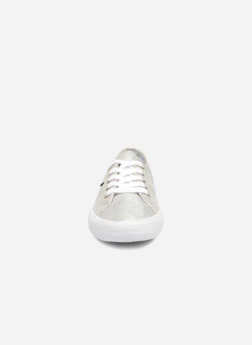 Trainers Pepe jeans Aberlady Fresh Silver model view