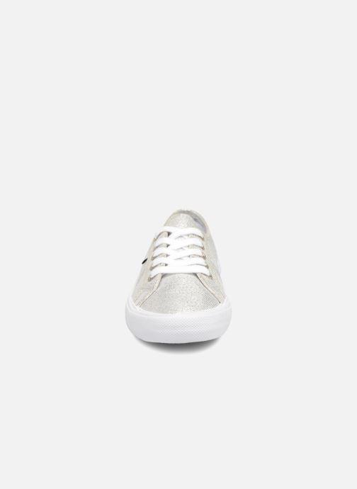 Baskets Pepe jeans Aberlady Fresh Argent vue portées chaussures