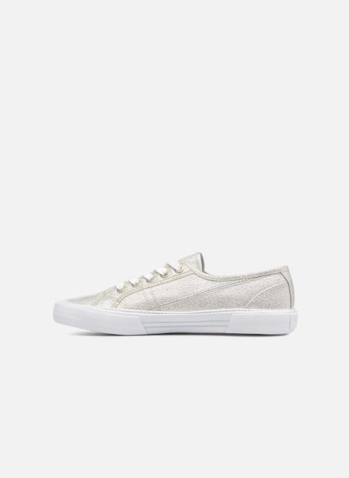 Trainers Pepe jeans Aberlady Fresh Silver front view