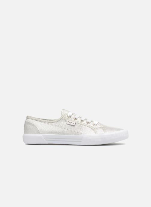 Trainers Pepe jeans Aberlady Fresh Silver back view