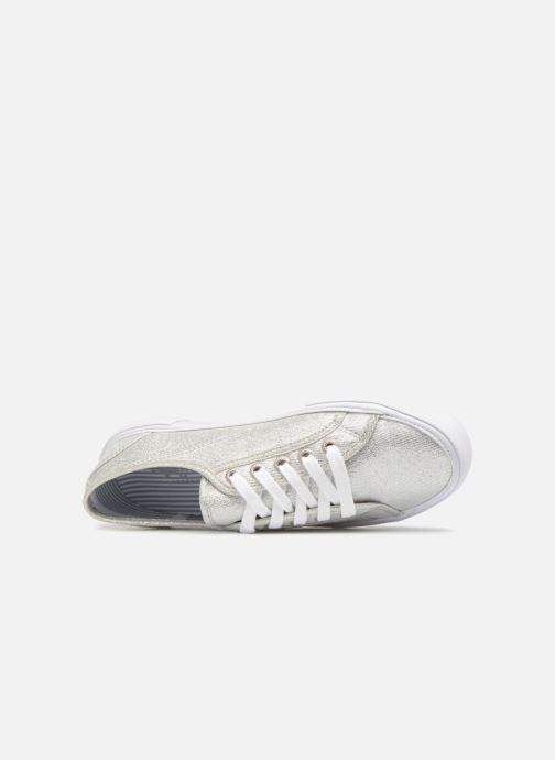 Trainers Pepe jeans Aberlady Fresh Silver view from the left