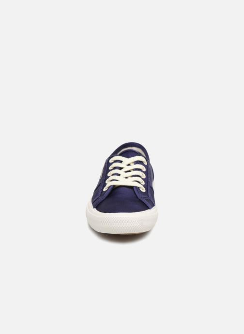 Trainers Pepe jeans Aberlady Satin Blue model view