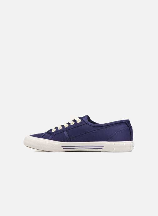 Trainers Pepe jeans Aberlady Satin Blue front view