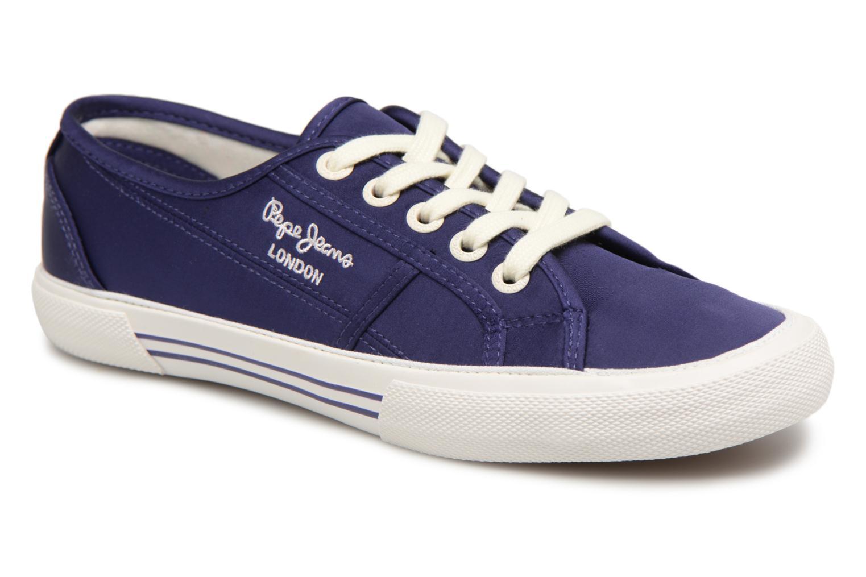 Nuevo zapatos Pepe en jeans Aberlady Satin (Azul) - Deportivas en Pepe Más cómodo a6beca