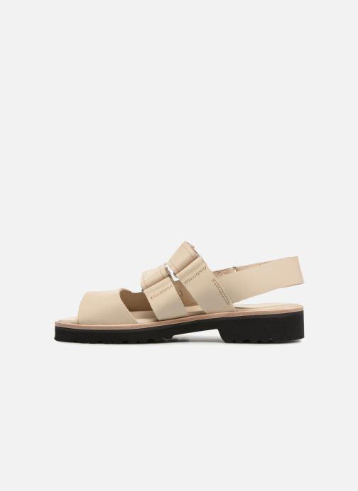 Sandali e scarpe aperte Deux Souliers Weekender Sandal #2 Beige immagine frontale