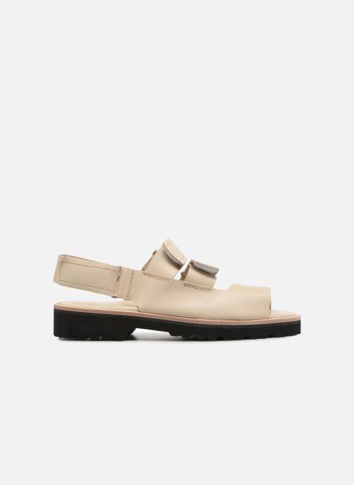 Sandali e scarpe aperte Deux Souliers Weekender Sandal #2 Beige immagine posteriore