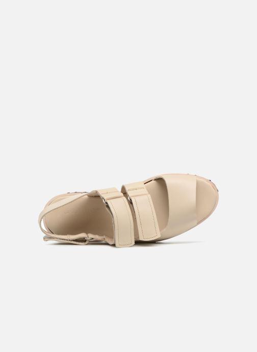 Sandali e scarpe aperte Deux Souliers Weekender Sandal #2 Beige immagine sinistra