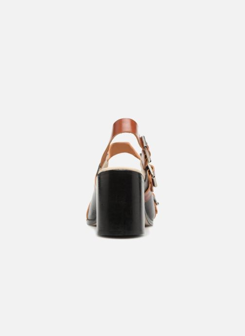 Deux Souliers Et Chez Strap noir 1 Buckle Sandales Sandal Nu pieds OOq1PnWr