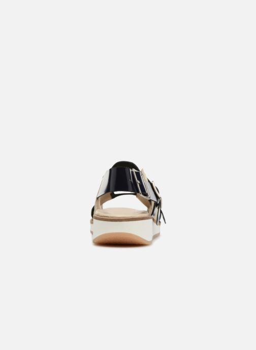 Sandalen Deux Souliers Buckle Strap Sandal #1 beige ansicht von rechts