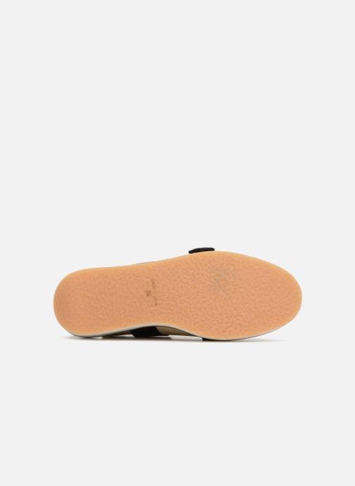 Sandales et nu-pieds Deux Souliers Buckle Strap Sandal #1 Beige vue haut