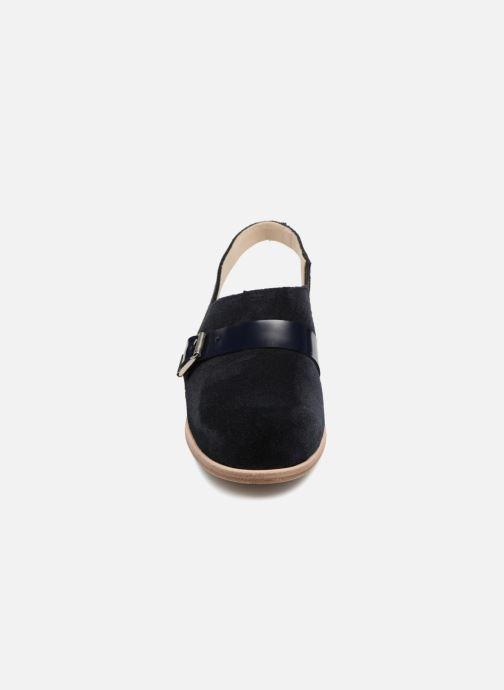 Sandali e scarpe aperte Deux Souliers Buckle Sandal #3 Azzurro modello indossato