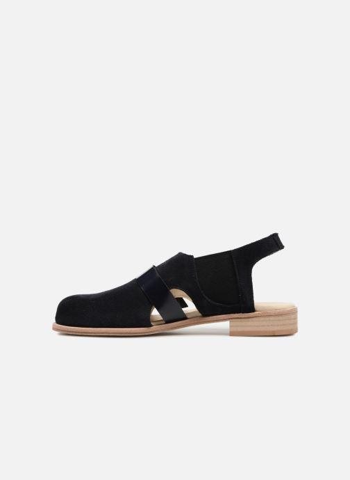 Sandali e scarpe aperte Deux Souliers Buckle Sandal #3 Azzurro immagine frontale