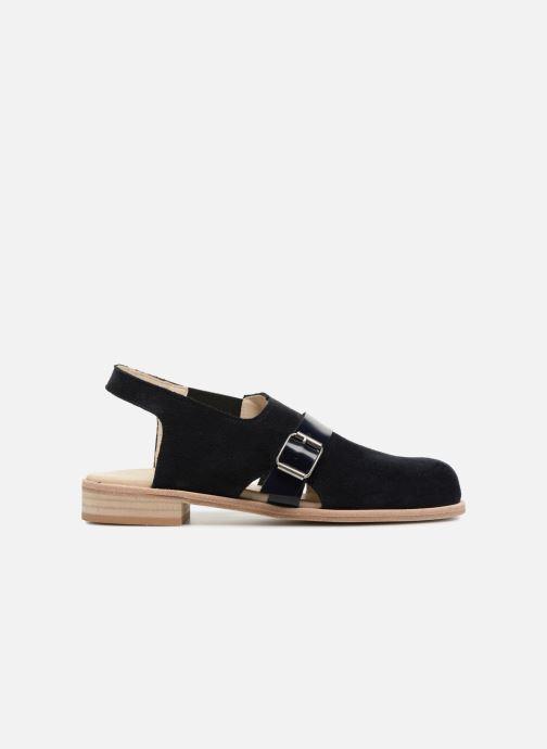 Sandales et nu-pieds Deux Souliers Buckle Sandal #3 Bleu vue derrière