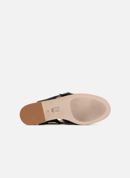 Sandales et nu-pieds Deux Souliers Buckle Sandal #3 Bleu vue haut