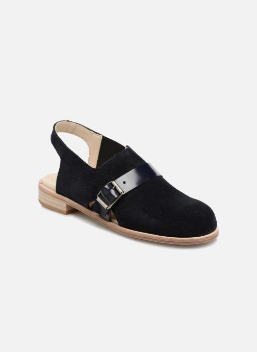 Sandales et nu-pieds Deux Souliers Buckle Sandal #3 Bleu vue détail/paire