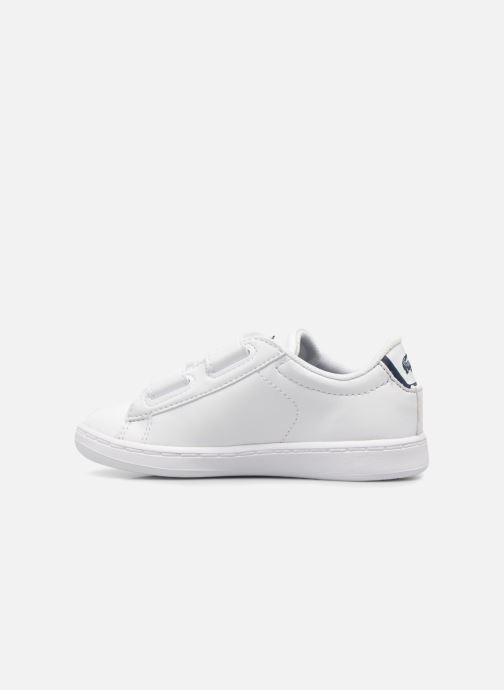 Sneakers Lacoste Carnaby Evo BL 1 Inf Hvid se forfra