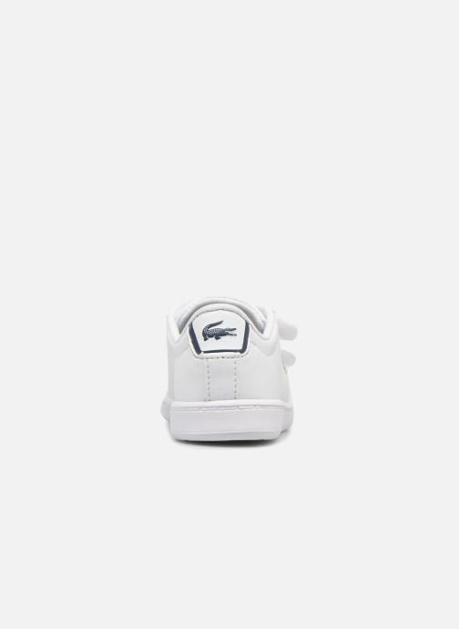 Baskets Lacoste Carnaby Evo BL 1 Inf Blanc vue droite