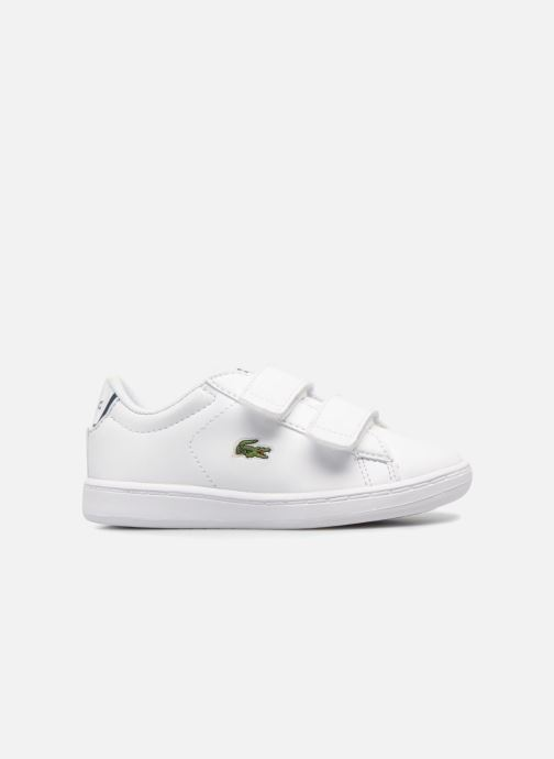 Baskets Lacoste Carnaby Evo BL 1 Inf Blanc vue derrière