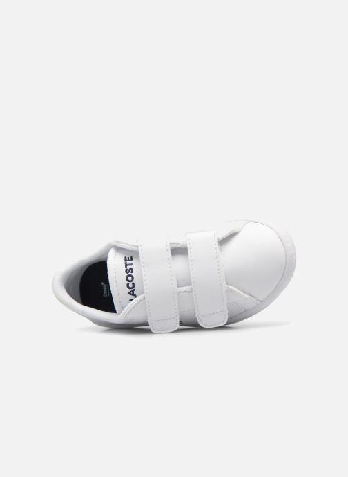 Sneakers Lacoste Carnaby Evo BL 1 Inf Hvid se fra venstre