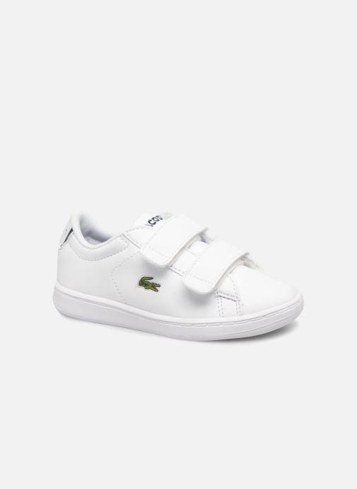 Sneakers Lacoste Carnaby Evo BL 1 Inf Hvid detaljeret billede af skoene