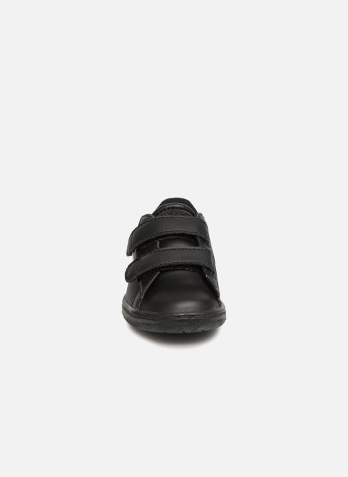 Baskets Lacoste Carnaby Evo 118 4 Inf Noir vue portées chaussures