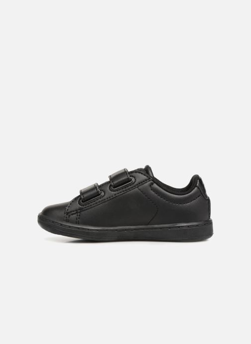 Baskets Lacoste Carnaby Evo 118 4 Inf Noir vue face