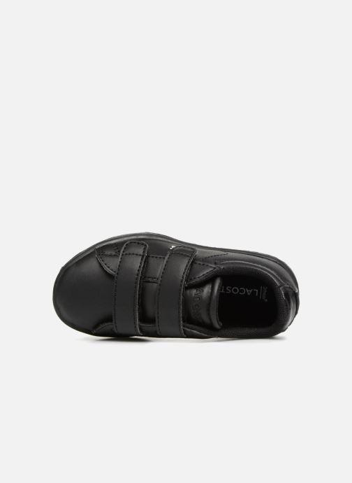 Sneakers Lacoste Carnaby Evo 118 4 Inf Sort se fra venstre