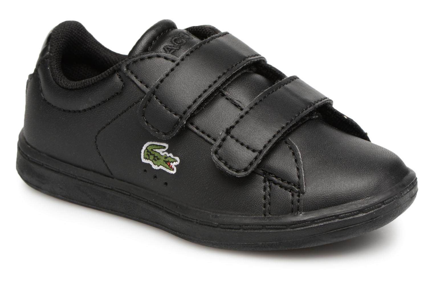 Baskets Lacoste Carnaby Evo 118 4 Inf Noir vue détail/paire